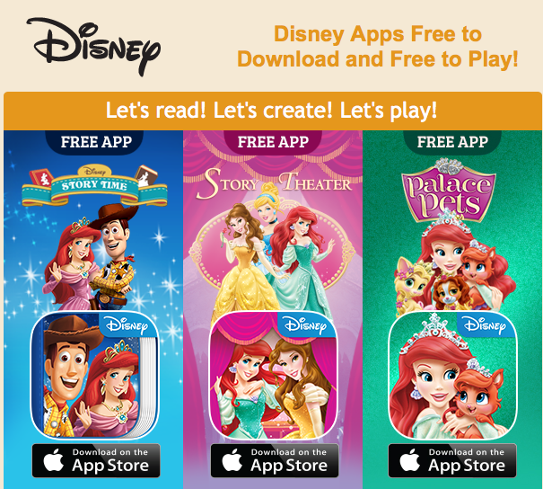 Free Disney Apps Princess Story Theater Princess Palace Pets Disney Story Time Freebies2deals Disney Story Princess Palace Pets Princess Stories