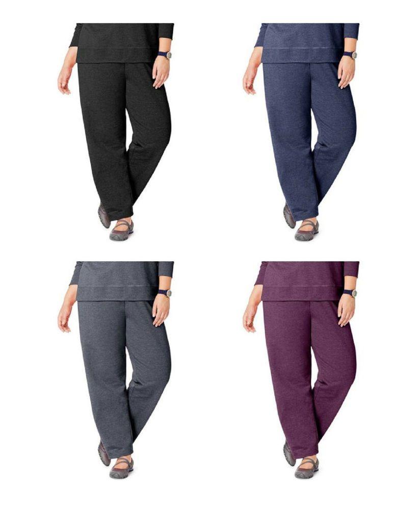 3a46e2508c5 Just My Size Women s Fleece Sweatpants Plus Size and Petite PLus Open Leg   JustMySize  AthleticPants