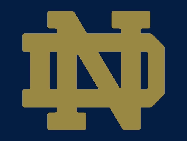 Notre Dame Logo | Notre dame logo, Notre dame, Notre dame ...