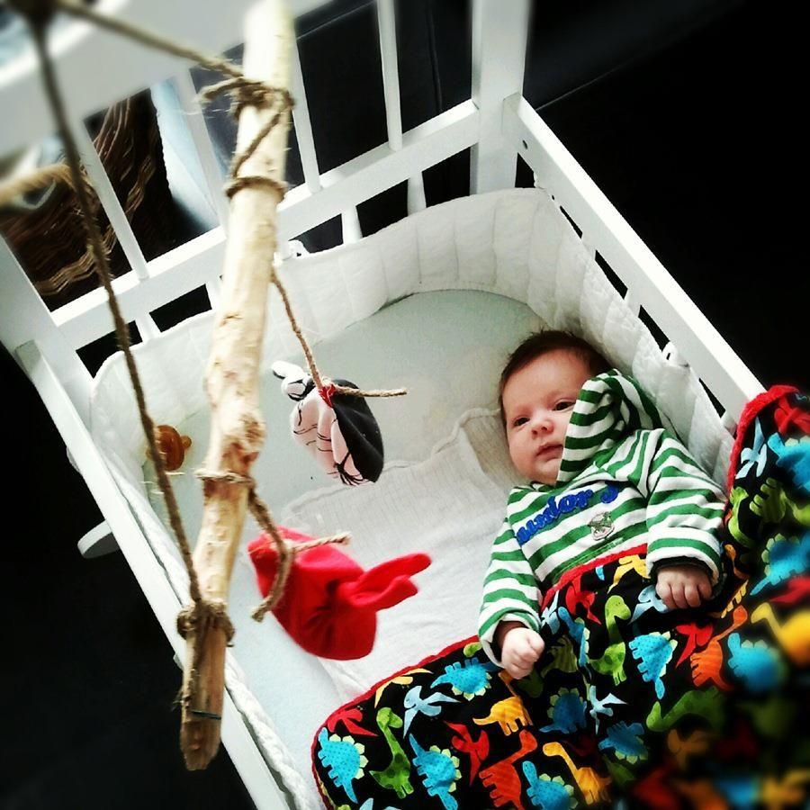 cradle/ crib from lululaj.pl