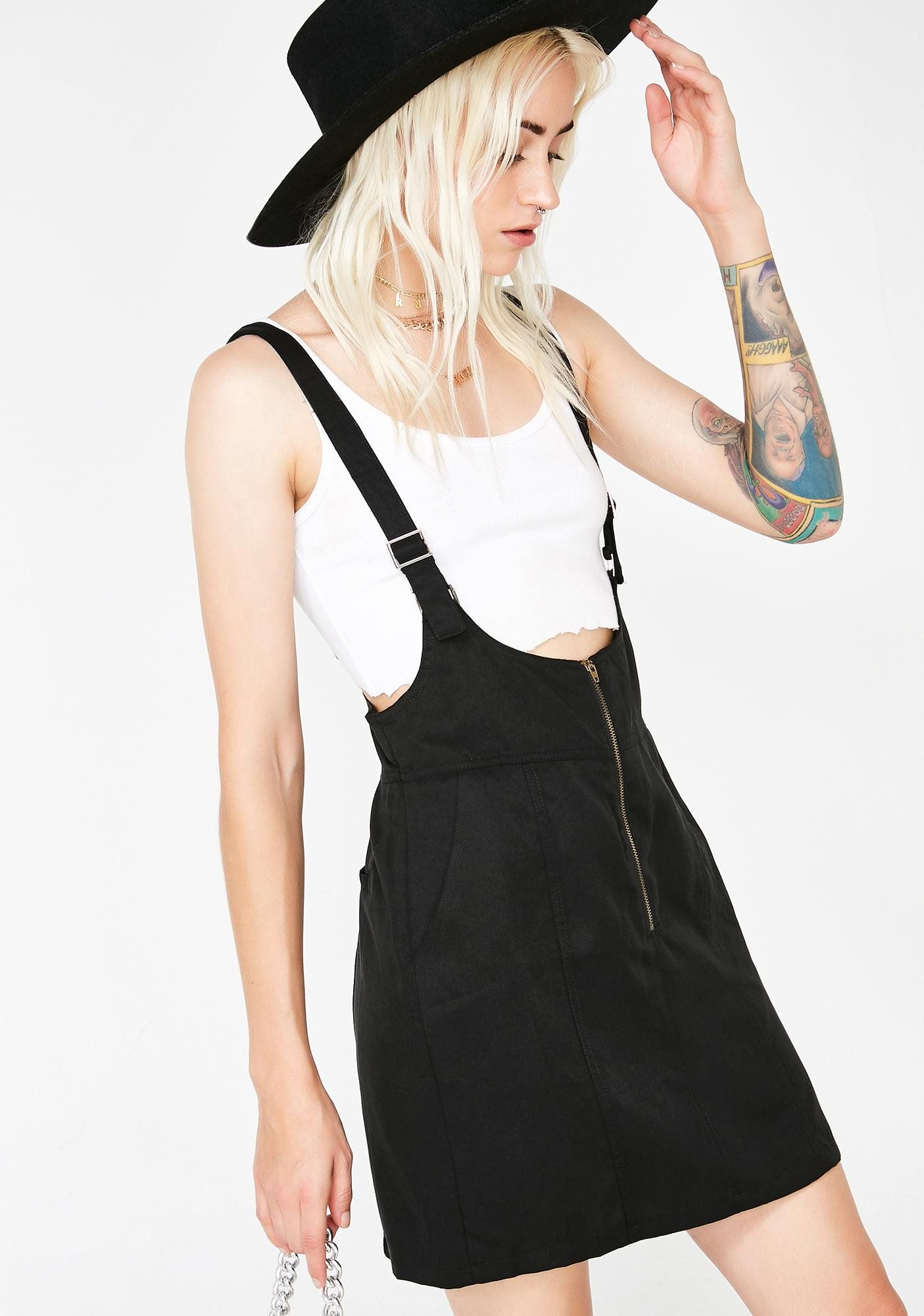 590624f649fe Mile High Club Suspender Dress   Dolls Kill WL   Suspender dress ...