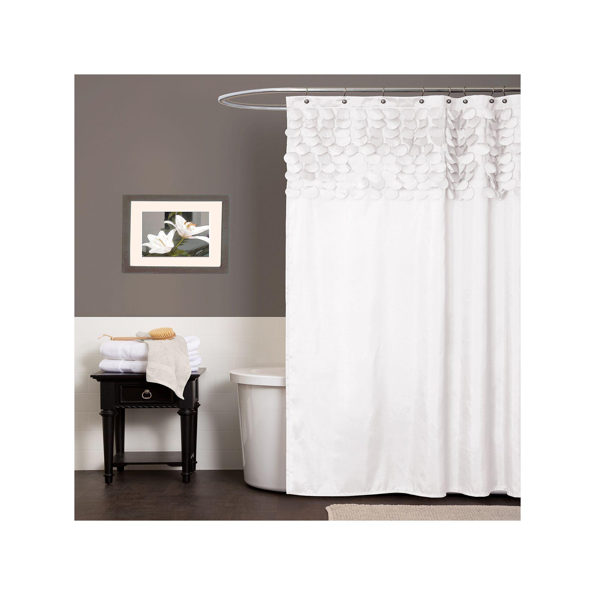Lillian Fabric Shower Curtain