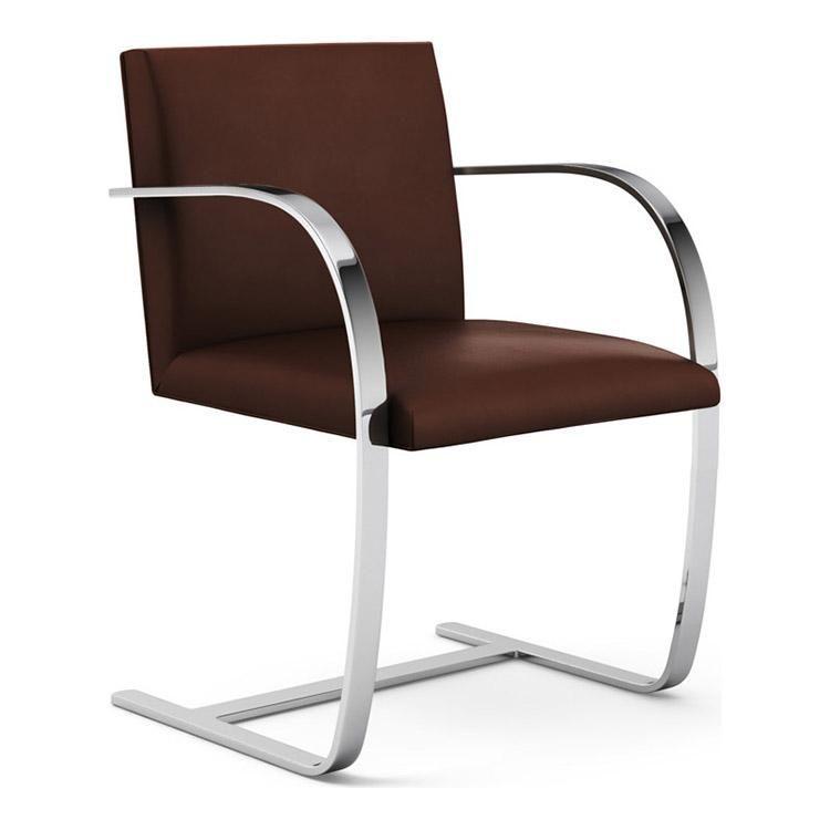 Flat Bar Brno Chair Ludwig Mies Van Der Rohe Luxury Office Chairs Mies Van Der Rohe