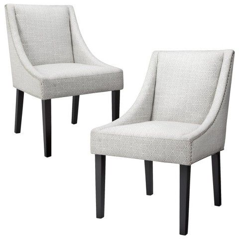 Pair @ $199.99 for captain's chairs Griffin Nailhead ...