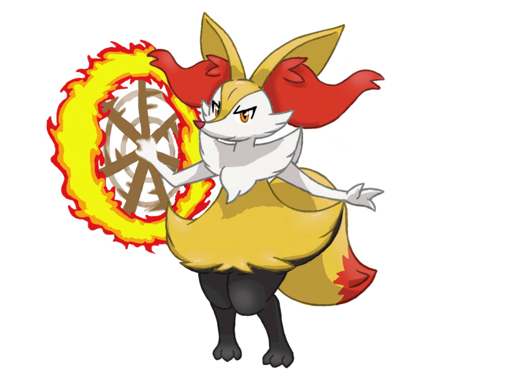 Braixen By Bman 64deviantart On DeviantArt