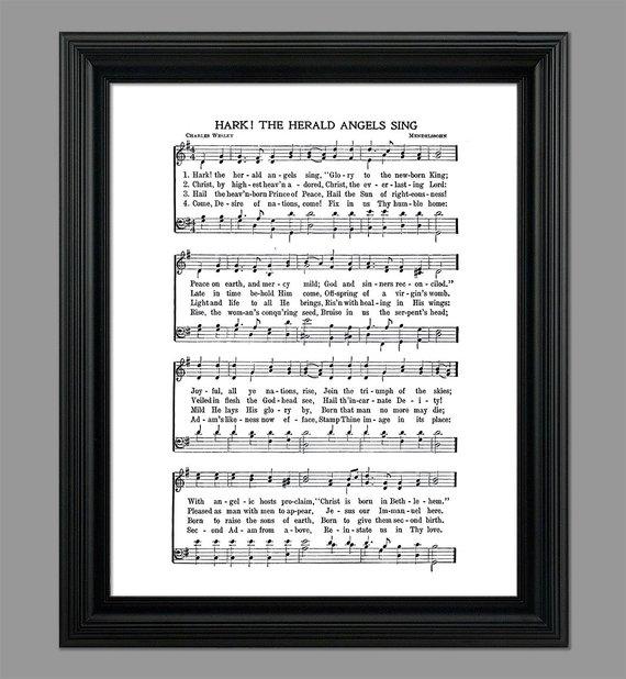 Christmas Song The Gift Lyrics: Hark The Herald Angels Sing Christmas Song Lyrics