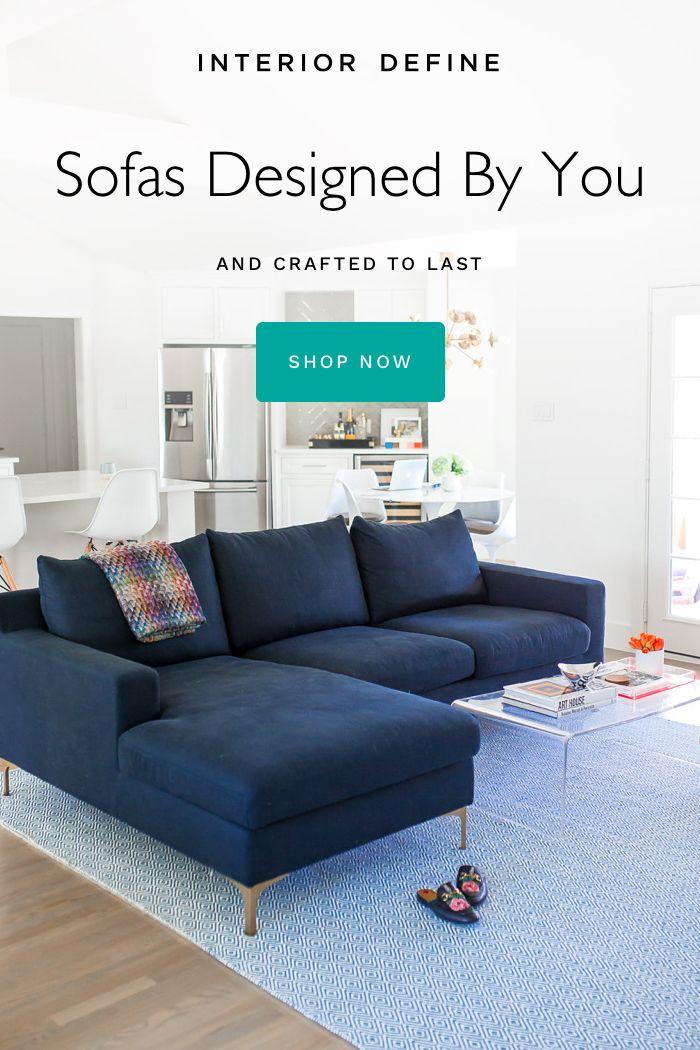 Custom Sofas At Attainable Prices Explore The Interior Define