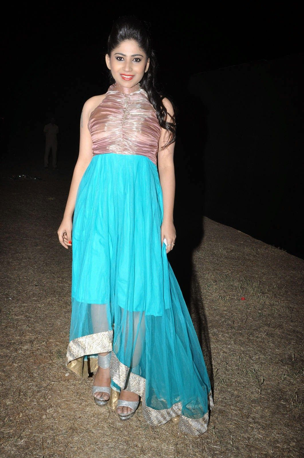 Tollywood Actress Madhulagna Das Stills at Happy New Year Eve Party ...