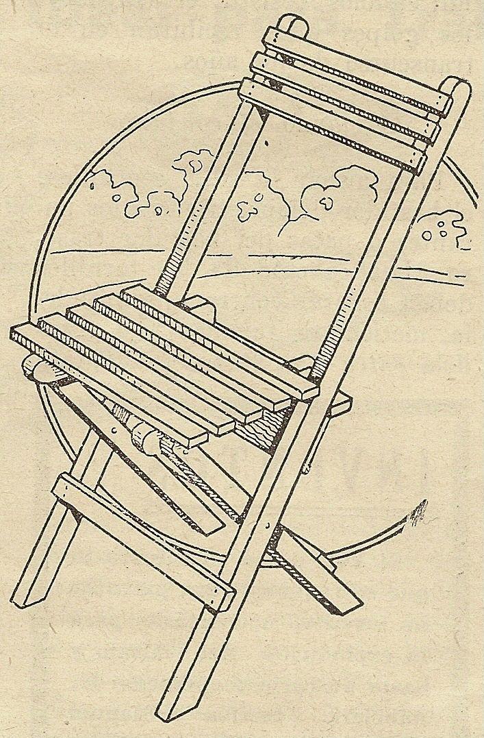 Como hacer una silla de madera plegable paso a paso for Sillas para planos