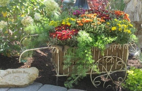 10 Repurposed Container Ideas For Your Garden | The Home and Garden Cafe