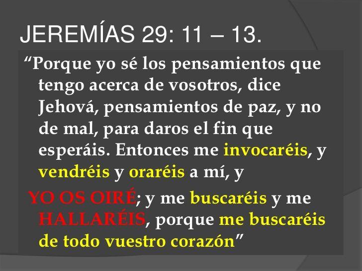 Muito Jeremías 29:11-13 - Buscar con Google | frases cristianas  NQ03