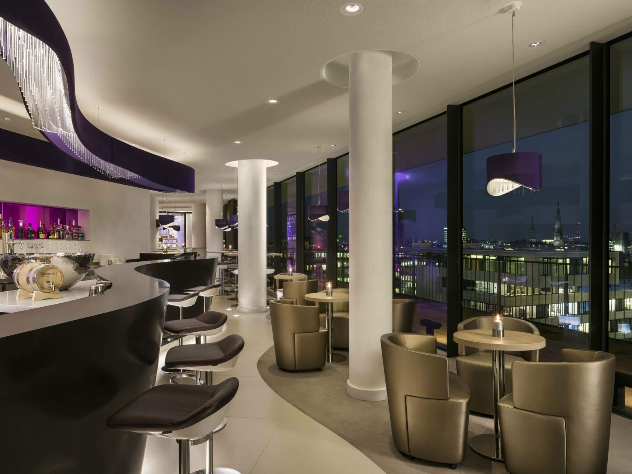 Elbphilharmonie Bar The Bridge Hamburg Westin Hotel Cafe Restaurant Cafe Hamburg