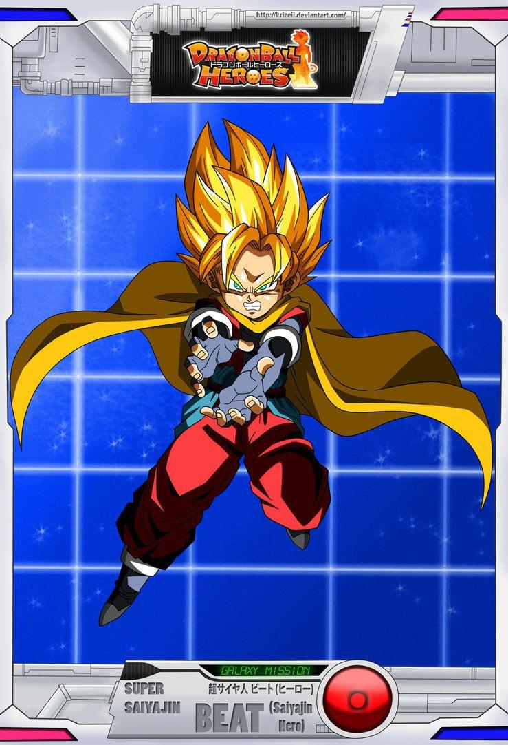 Dragon Ball Heroes Gm Super Saiyajin Beat By Krizeii On Deviantart Dragon Ball Hero Anime