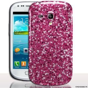 Coque samsung galaxy s3 mini Rigide Rose   Smartphone samsung ...