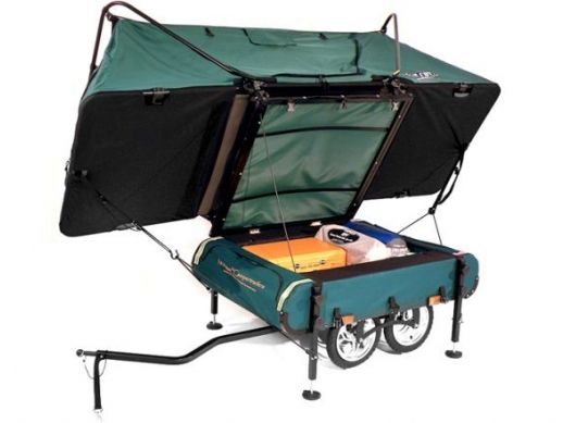 Midget Bushtrekka An Innovative Pop Up Camper For Avid