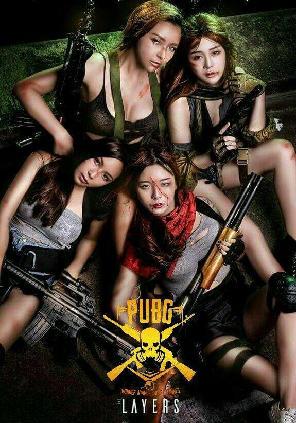 GIRLS SQUAD 4K HD WALLPAPER || PUBG MOBILE
