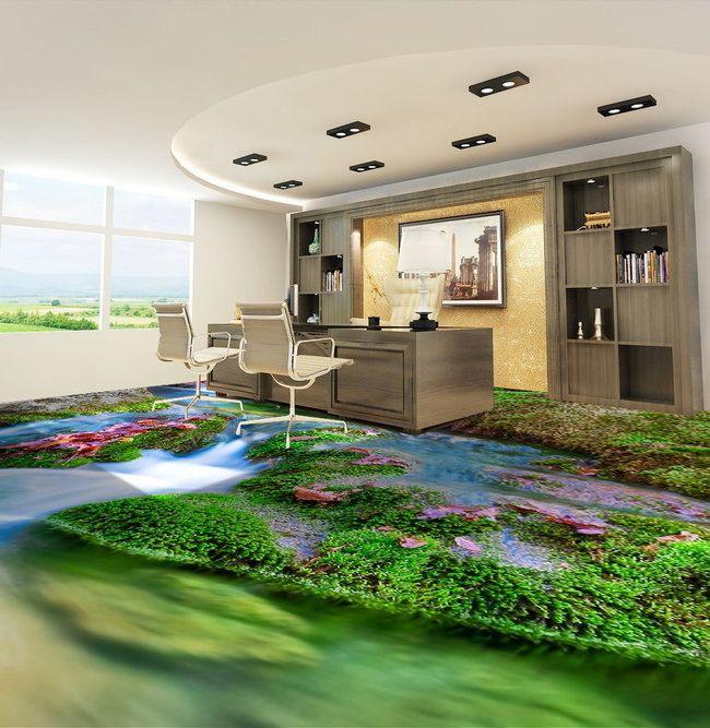 d coration d 39 int rieur rev tement sol personnalis paysage. Black Bedroom Furniture Sets. Home Design Ideas