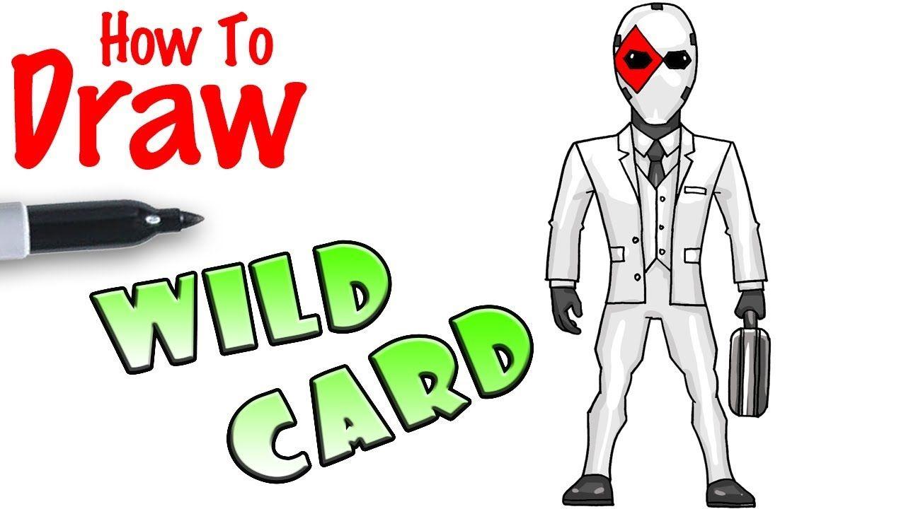 Billedresultat For Fortnite Wildcard How To Draw Dibujos Kawaii Dibujo Facil Kawaii