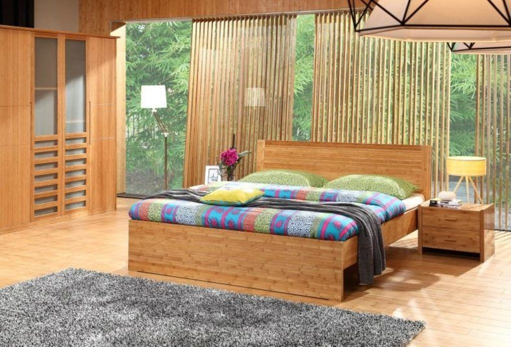47+ Charming Bedroom Decoration with Bamboo Design