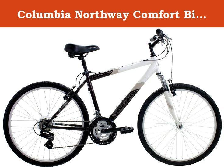 Columbia Northway Comfort Bike, White/Gray/Black, 16-Inch Frame. The ...