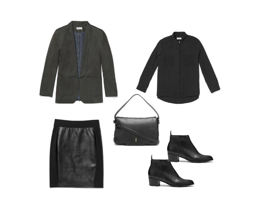 I created this look @thackernyc the skirt suit #youstyleit