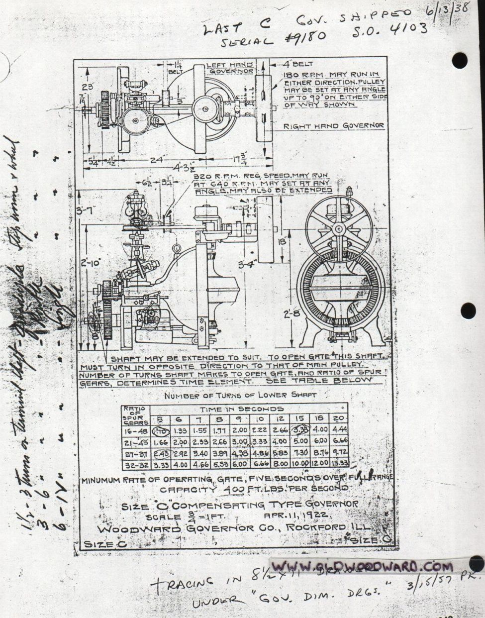 Drawing with dimensions of engine schematic free download wiring vintage woodward compensating type mechanical governor drawing drawing with dimensions of engine schematic 45 gun drawings schematics schematic symbols buycottarizona Images