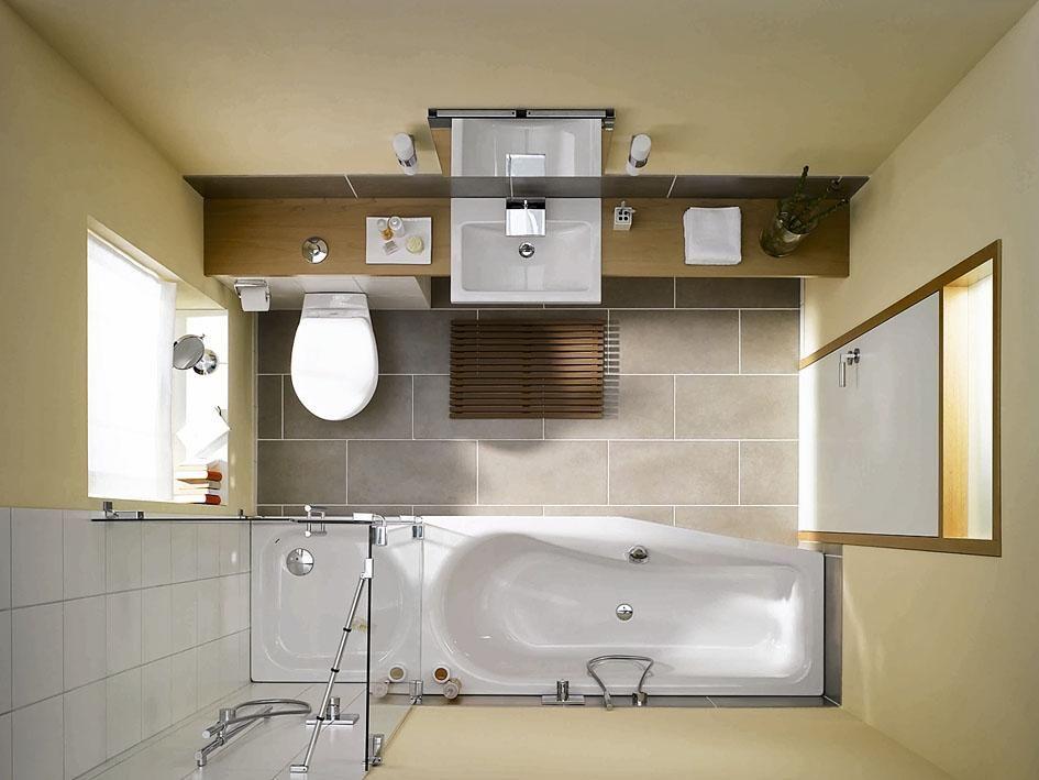 Das Minibad Badezimmer Kleine Badezimmer Raumspar Badewanne