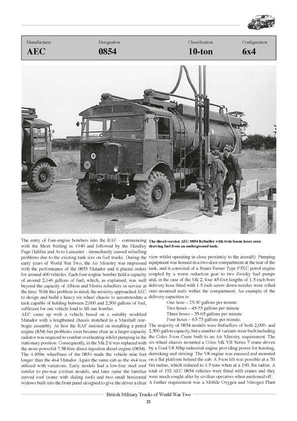 British Military Trucks of World War 2 - TANKOGRAD Publishing - Verlag Jochen Vollert - Militärfahrzeug