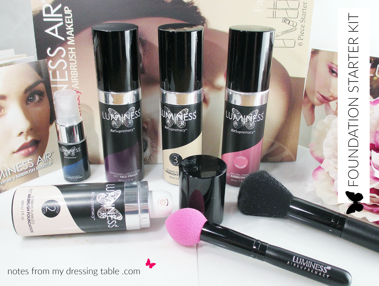 Luminess Air Air Supremacy Airbrush Makeup (With images