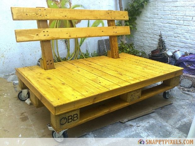 Pallet Furniture Palett Desk Ideas Outdoor Furniture Made From