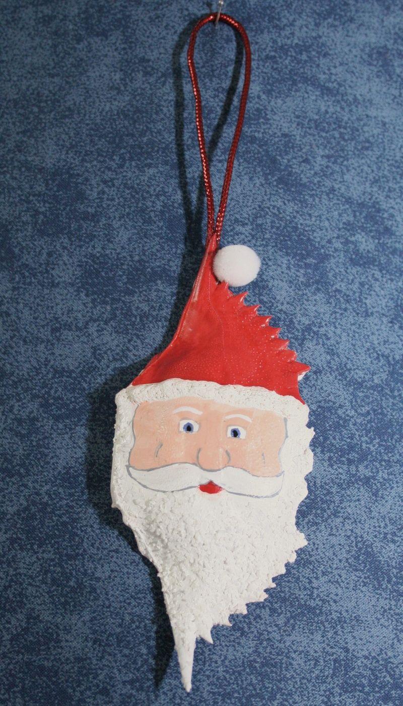 Cajun Christmas Ornaments,holiday Cajun Ornaments  Welome To Cajun  Ornaments  Crab Shell Santa