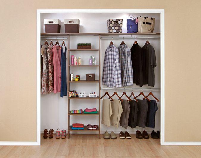C mo armar un cl set de madera cubos organizadores y for Organizadores para closet