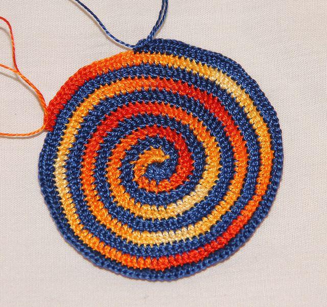 Spiral Crochet Kippah | Suegra, Gorros y Tejido