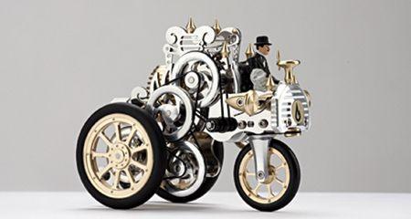 YTA15 Model Stirling Hot Air Engine Car A1 Bohm Made in Germany