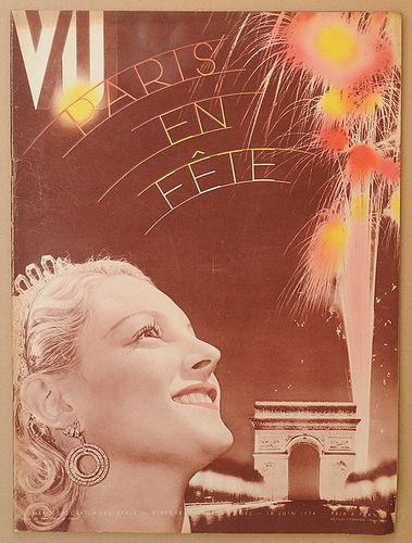 Amazing cover of VU magazine, June 1934