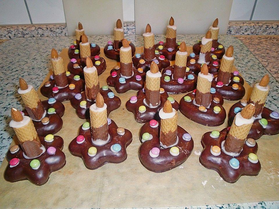 Lebkuchen - Kerze von taliafee | Chefkoch #geschenkebastelnmitkindernweihnachten