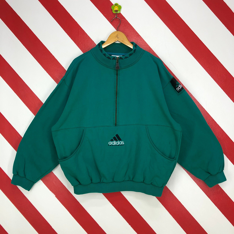 Vintage 90s Adidas Sweatshirt Zipper Adidas Equipment Sweater Etsy Adidas Sweatshirt 90s Sportswear Sweatshirt Zipper [ 3000 x 3000 Pixel ]