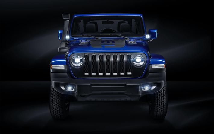 Download Wallpapers Jeep Wrangler Unlimited Moparized 4k 2018 Cars Suvs Blue Jeep Studio Jeep Wrangler Jeep Besthqwallpapers Com Jeep Wrangler Unlimited Jeep Wrangler Wrangler Unlimited