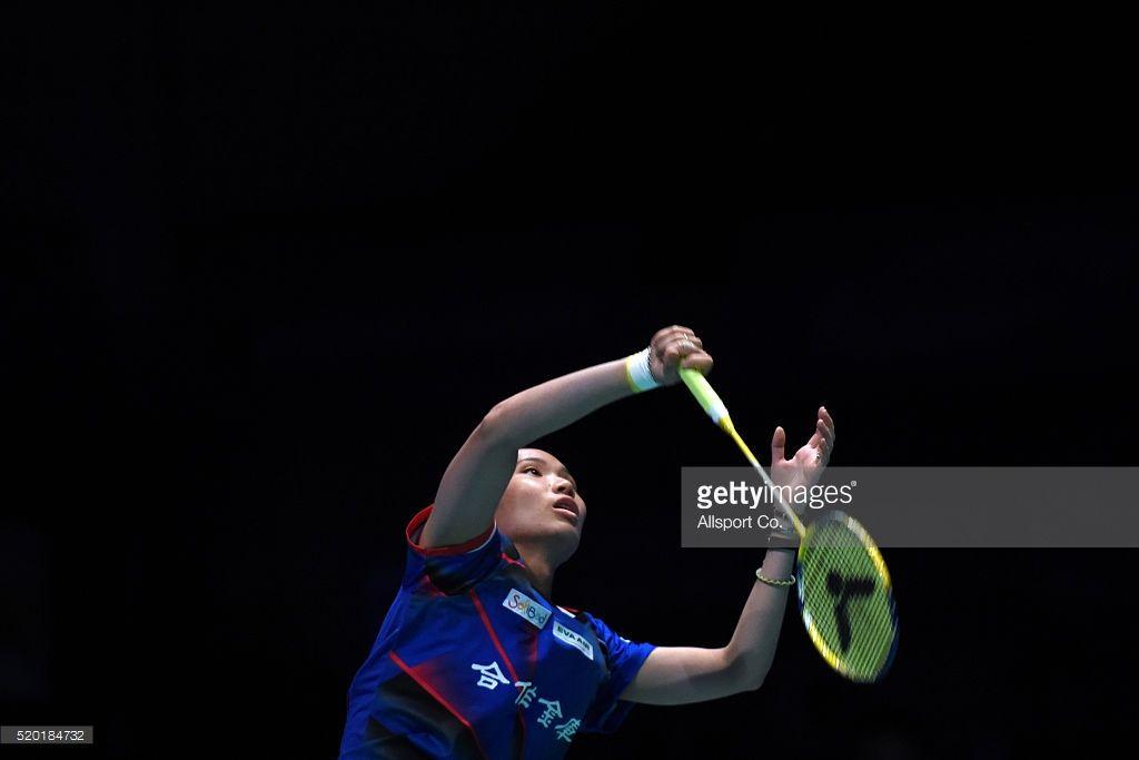 Tai Tzu Ying Of Chinese Taipei Returns To Ratchanok Intanon Of Chinese Taipei Taipei Tai