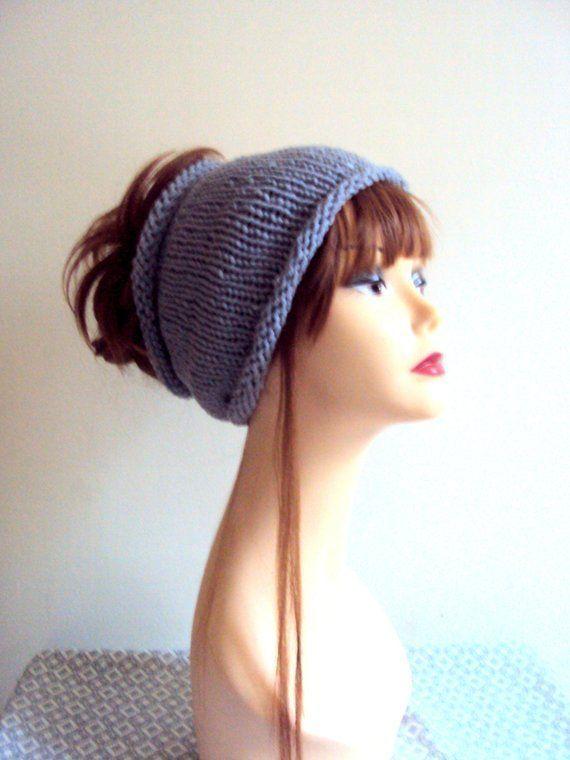 Knit Dreadlock Head Band Wide Headband Yoga Headband Fitness Headband Running He #wideheadband Knit...