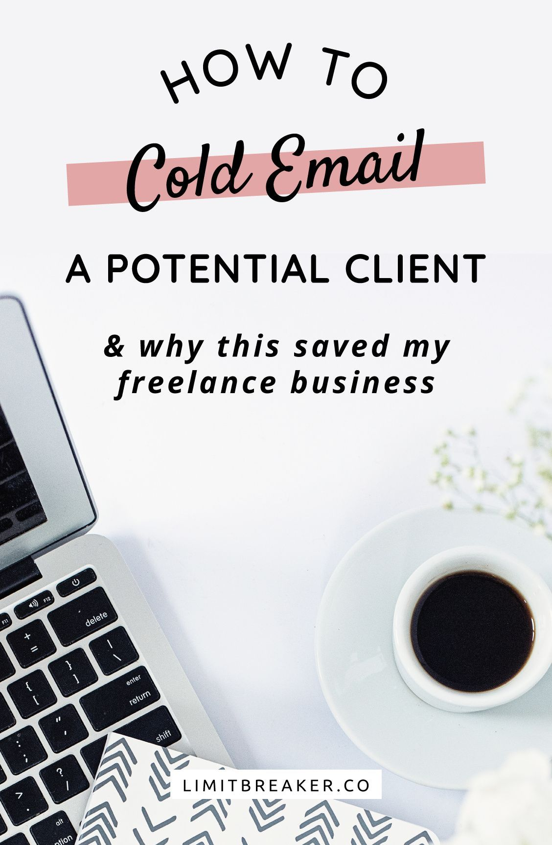 Learn how to cold email a potential client with this guide and video. Including how to find email addresses and track your cold emails.    Cold emailing saved my freelance business.  #freelancetips #getmoreclients #bookmoreclients #findyourdreamclient #freelancemarketing #client #coldemail