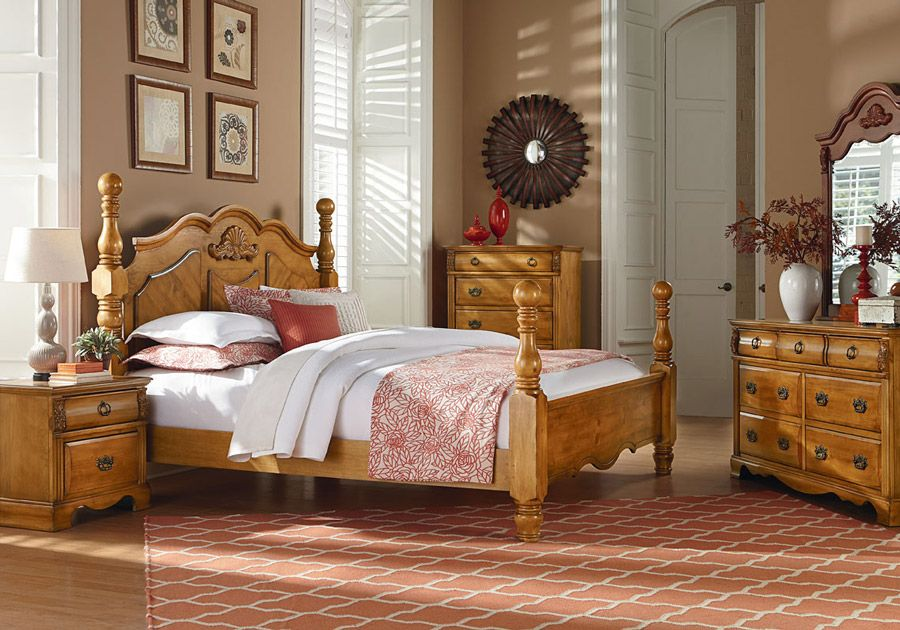 Sugar Palm 7 Pc King Bedroom With Images Bedroom Furniture