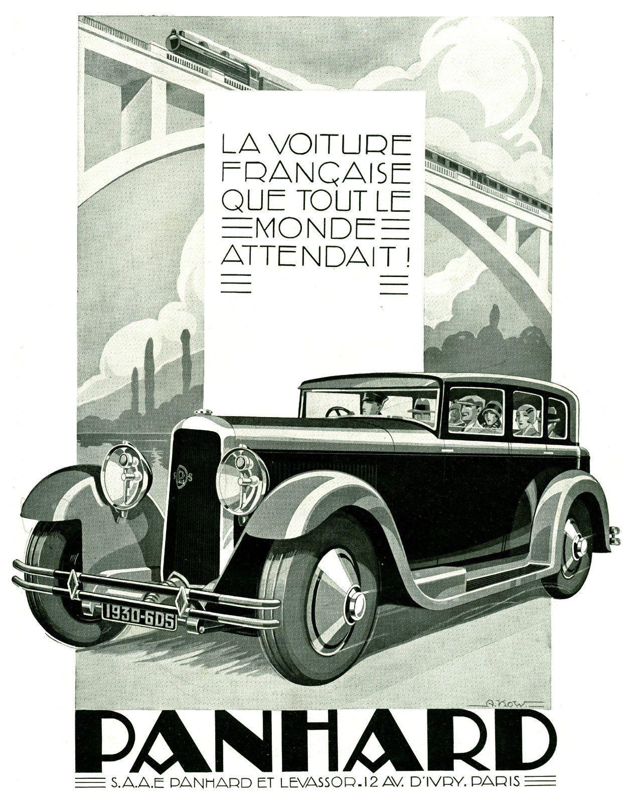 Publicité ancienne automobile Amilcar 8 cylindres 1929 issue de magazine