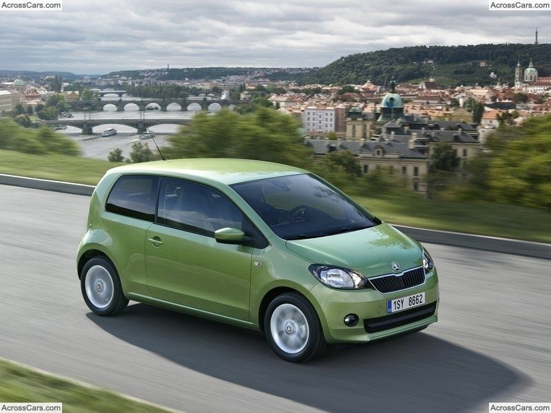 Skoda Citigo 2013 Small Cars Car Colors Car Posters