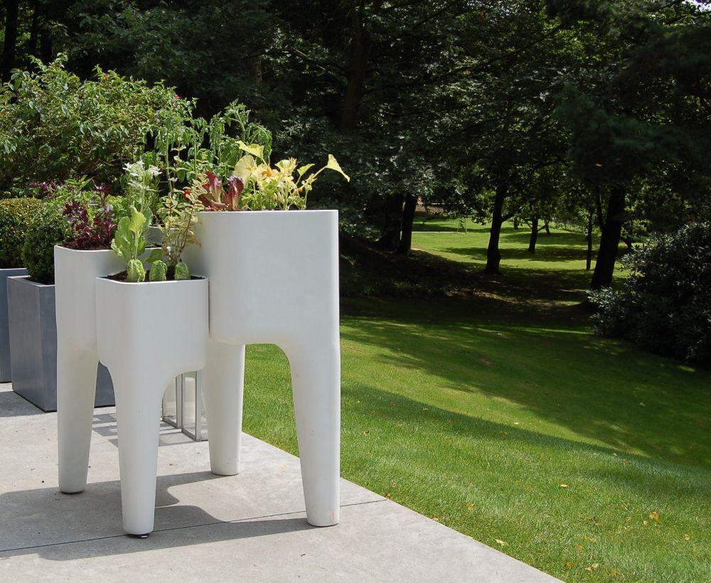 potager jardini re design kiga blanc 80x72x104cm potager. Black Bedroom Furniture Sets. Home Design Ideas