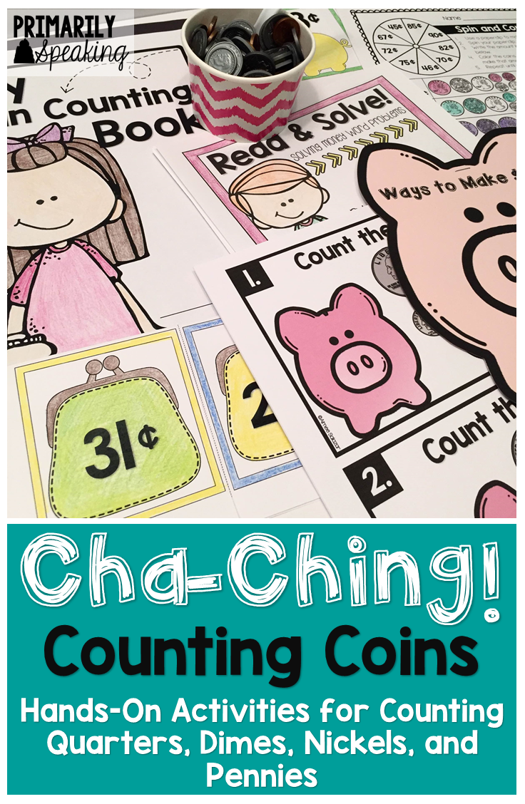 Counting Coins | Counting coins, Differentiation and Activities