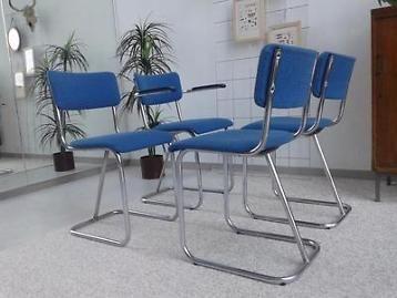 Originele gispen stoelen model vintage design stoel