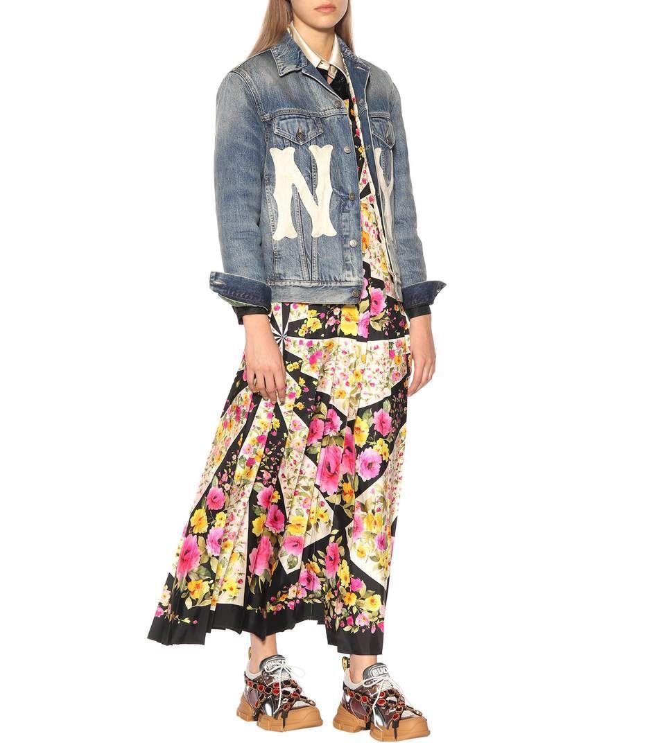 Gucci - Flashtrek embellished sneakers