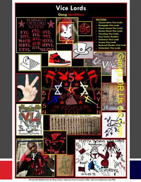 Street Gang Signs And Symbols Prison Pinterest Symbols Vice