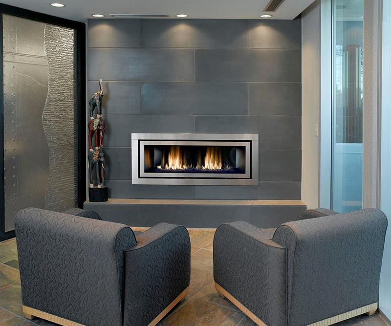 Fireplace7 Design Tile Inc In 2020 Modern Stone Fireplace